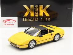 Ferrari 328 GTS year 1985 yellow 1:18 KK-Scale