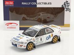 Subaru Impreza 555 #6 Vinder Rallye del Ciocco 1998 1:18 SunStar
