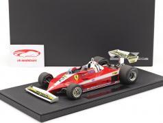 Gilles Villeneuve Ferrari 312T3 #12 formule 1 1978 1:18 GP Répliques