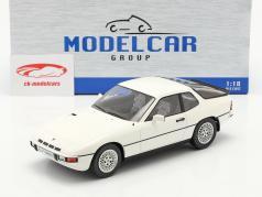 Porsche 924 Turbo Année de construction 1979 blanc 1:18 Model Car Group