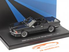 BMW 635 CSi Alpina B7 Mirage Classic 1985 zwart 1:43 AutoCult