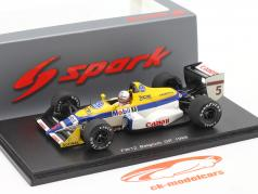 Martin Brundle Williams FW12 #5 Bélgica GP Fórmula 1 1988 1:43 Spark