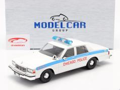 Chevrolet Caprice Chicago Police Department blanco 1:18 Model Car Group