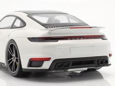 Porsche 911 (992) Turbo S Anno di costruzione 2020 bianca 1:18 Minichamps
