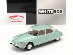 Citroen DS 23 Pallas Año de construcción 1973 verde claro metálico 1:24 WhiteBox