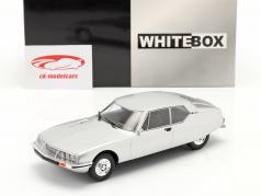 Citroen SM Année de construction 1970 argent 1:24 WhiteBox