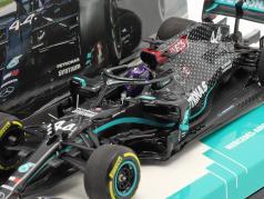 L. Hamilton Mercedes-AMG F1 W11 #44 Winner Steiermark GP formula 1 Campione del mondo 2020 1:43 Minichamps