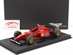 Michael Schumacher Ferrari F310 #1 formule 1 1996 Avec Vitrine 1:18 GP Replicas