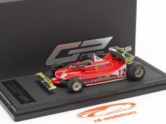Gilles Villeneuve Ferrari 312T4 #12 Monaco GP formule 1 1979 1:43 GP Replicas