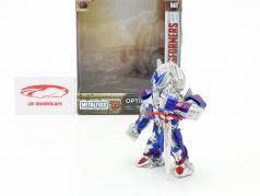 Optimus Prime 数字 4 inch Transformers (2017) 银 / 蓝色 / 红色的 Jada Toys