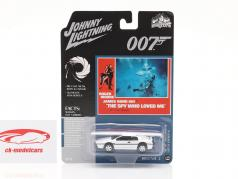 Lotus Esprit S1 James Bond The Spy Who Loved Me (1977) blanco 1:64 Johnny Lightning
