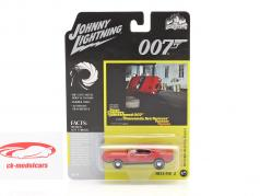 Ford Mustang Mach 1 James Bond Diamonds Are Forever (1971) rojo 1:64 Johnny Lightning