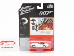 Toyota 2000GT James Bond You only live twice (1967) blanco 1:64 Johnny Lightning