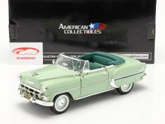 Chevrolet Bel Air Open Convertible Byggeår 1953 lys grøn 1:18 SunStar