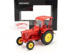 Hanomag R35 tracteur année de construction 1953 rouge 1:18 Minichamps
