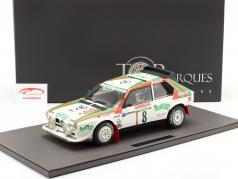Lancia Delta S4 #8 2. plads Rallye SanRemo 1986 Cerrato, Cerri 1:12 TopMarques