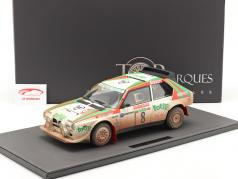 Lancia Delta S4 #8 2 ° Rallye SanRemo 1986 Dirty Version 1:12 TopMarques