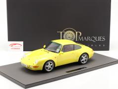 Porsche 911 (993) Carrera 2 建设年份 1994 黄色的 1:12 TopMarques