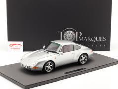 Porsche 911 (993) Carrera 2 Byggeår 1994 sølv 1:12 TopMarques
