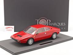 Ferrari Dino 308 GT4 Coupe Año de construcción 1973 rojo 1:12 TopMarques