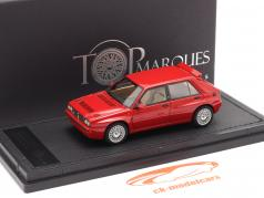Lancia Delta HF Integrale Evo 2 Byggeår 1992 rød 1:43 TopMarques
