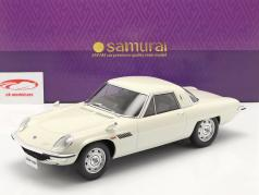 Mazda Cosmo Sport 建设年份 1967 白色的 1:12 Kyosho