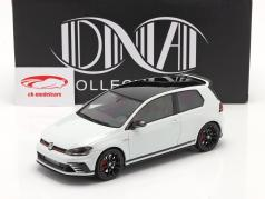 Volkswagen VW Golf GTi Clubsport S Byggeår 2014 hvid 1:18 DNA Collectibles