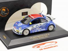 Volkswagen VW Beetle #3 New Beetle Cup 2001 Michels 1:43 Ixo