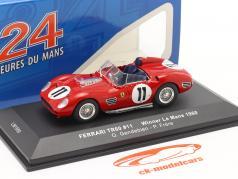 Ferrari TR60 #11 勝者 24h LeMans 1960 Gendebien, Frere 1:43 Ixo