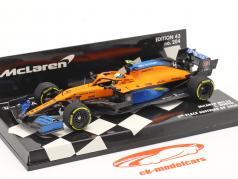 L. Norris McLaren MCL35 #4 第三名 奥地利人 GP 公式 1 2020 1:43 Minichamps