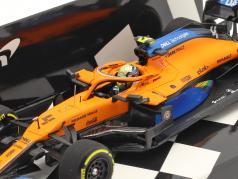 L. Norris McLaren MCL35 #4 3位 オーストリア航空 GP 式 1 2020 1:43 Minichamps