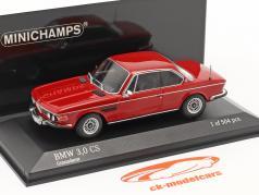 BMW 3.0 CS (E9) Année de construction 1969 rouge 1:43 Minichamps