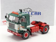Volvo F88 Lastbil Bilspedition 1971 grøn / hvid 1:18 Model Car Group