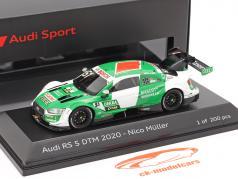 Audi RS 5 Turbo DTM #51 DTM 2020 Nico Müller 1:43 Spark