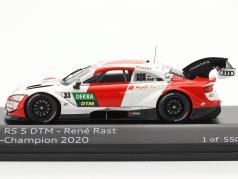 Audi RS 5 Turbo DTM #33 DTM campione 2020 Rene Rast 1:43 Spark