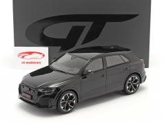 Audi RS Q8 year 2020 night black 1:18 GT-Spirit