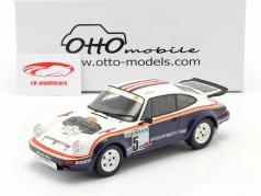 Porsche 911 SC RS #5 Gagnant Rallye Costa Smeralda 1984 Rothmans 1:18 OttOmobile