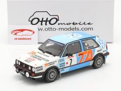 Volkswagen Golf II GTi 16V #7 5. plads Rallye Monte Carlo 1987 1:18 OttOmobile