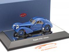 Bugatti Type 57SC Atlantic 建設年 1938 青い 1:43 AUTOart