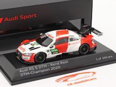Audi RS 5 Turbo DTM #33 DTM kampioen 2020 Rene Rast 1:43 Spark