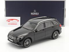 Mercedes-Benz GLC class (X253) year 2015 black 1:18 Norev