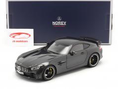 Mercedes-Benz AMG GT R 建設年 2019 暗灰色 メタリック 1:18 Norev