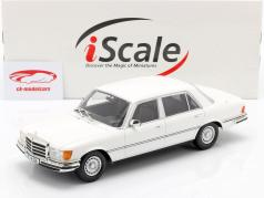 Mercedes-Benz S-класс 450 SEL 6.9 (W116) 1975-1980 белый 1:18 iScale