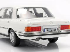 Mercedes-Benz S-class 450 SEL 6.9 (W116) 1975-1980 White 1:18 iScale
