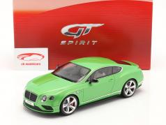 Bentley Continental GT V8 S Coupe groen 1:18 GT-SPIRIT