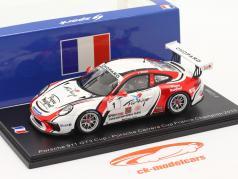 Porsche 911 GT3 Cup #1 Champion Porsche Carrera Cup Frankreich 2019 1:43 Spark