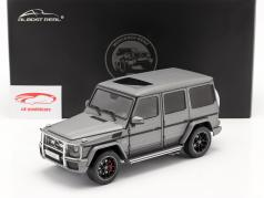 Mercedes-Benz AMG Classe G (W463) 2017 cinza metálico 1:18 Almost Real