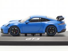 Porsche 911 (992) GT3 Год постройки 2021 shark blue 1:43 Minichamps
