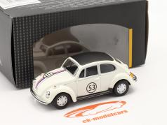 Volkswagen VW Käfer #53 Herbie weiß 1:43 Cararama
