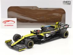 Esteban Ocon Renault R.S.20 #31 Grã Bretanha GP Fórmula 1 2020 1:18 Solido